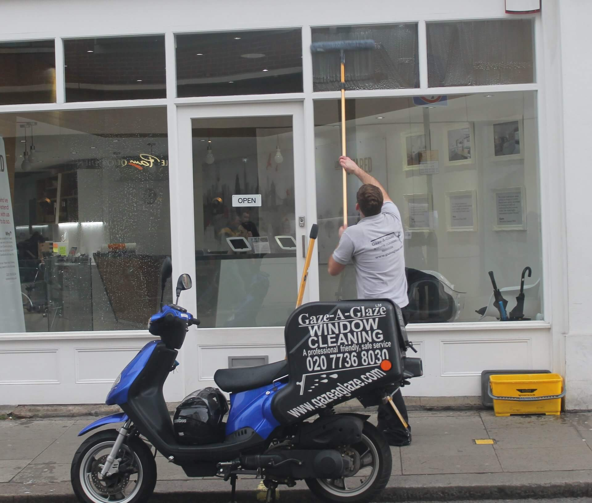 Retail Window Cleaning London